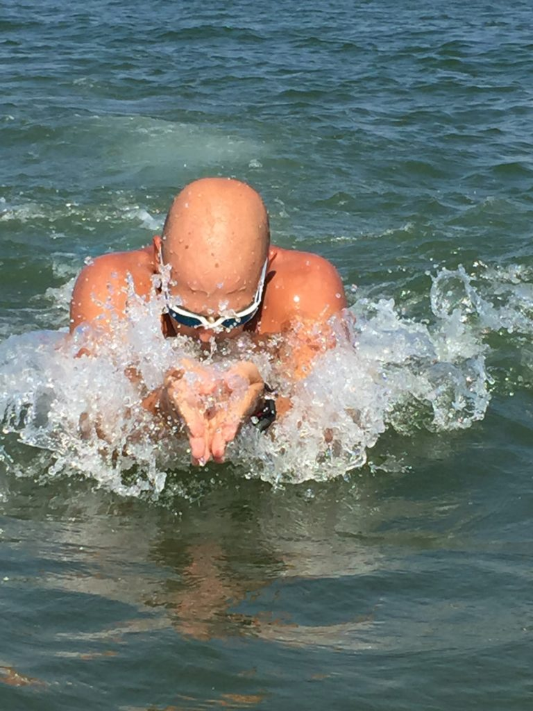 apprendre à nager Genève